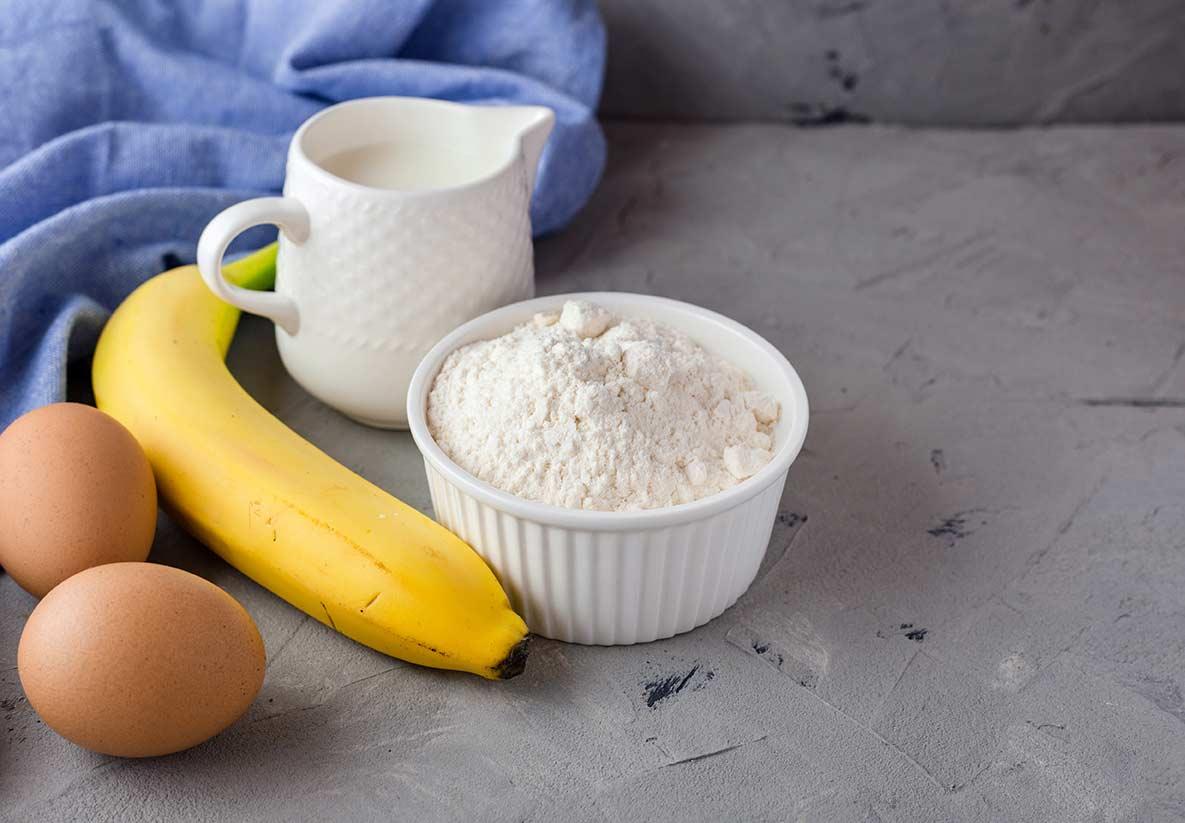 ingredienser bananpannkakor