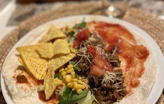 Tacos med goda tillbehör